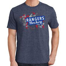 Rangers Hockey T-Shirt New York Sports 2240