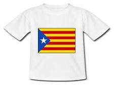 T-shirt Bébé drapeau Catalan - Catalogne indépendante