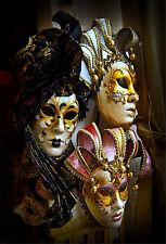 Wandsticker aufkleber deko : Masken Venedig - ref 1681 (16 größe)