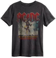 Amplified - AC/DC Blow Up Tour Logo Herren T-Shirt (Grau) (S-XL)