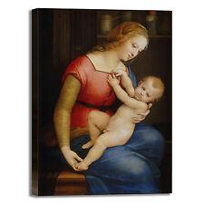 Raffaello Madonna di Orleans quadro stampa tela dipinto telaio arredo casa