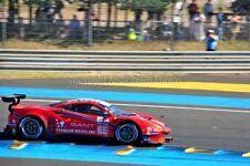 Ferrari 488 GTE no65 24 Hours of Le mans 2017 photograph picture poster print