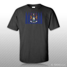 Michigan Flag Bullet T-Shirt Tee Shirt Cotton MI .223 5.56mm 2a 2nd gun rights