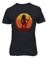 Predator Sunset Horror Scary Shirt Hunter Fall Halloween Men's T-Shirt