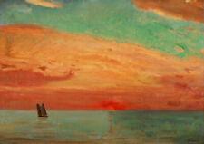 FUJISHIMA Takeji: Sunrise Over the Eastern Sea. Art Imprimé/Poster (004585)