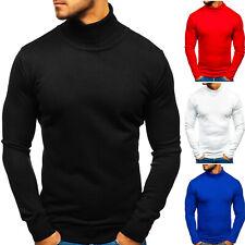 Pullover Sweater Strickjacke Strickpullover Rollkragen Herren Mix BOLF 5E5 Fein