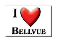 SOUVENIR USA - COLORADO FRIDGE MAGNET AMERICA I LOVE BELLVUE (LARIMER COUNTY)