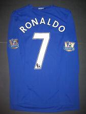 Nike Manchester United Cristiano Ronaldo Long Sleeve Jersey Shirt Kit Trikot M L