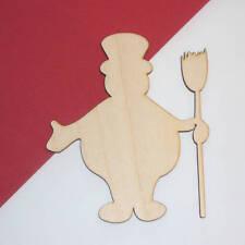 Frosty Snowman Unfinished Wood Shape Cut Out Fsm5121 Crafts Lindahl WoodCrafts