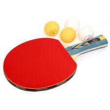 Prospecs 2.5S Shakehand Blade Table Tennis Ping Pong Racket Bats + 4Balls