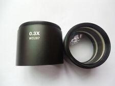 0.3X 0.5X 0.75X 1X 1.5X 2XStereo Microscope Barlow Objective Lens