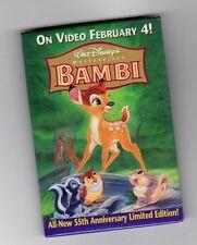 Walt Disney Masterpiece Bambi All New 55Th Anniversary Pin Limited Edition Pin