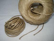 25 m corde ficelle à guinder de tapissier lin chanvre fauteuil siège