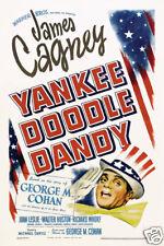 Yankee Doodle Dandee James Cagney vintage movie poster