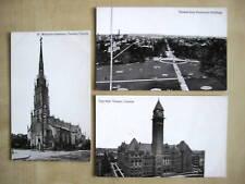 Lot Postkarten Ansichtskarten 3x Postcards TORONTO Canada Kanada 50`s