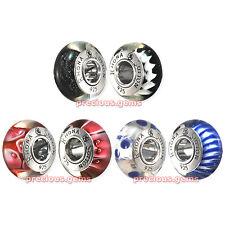 Rhona Sutton Sterling Silver Charm Bead Pairs: Black Blue or Red (Premium Range)