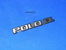 original Emblem Schriftzug Heckemblem VW Polo CL Typ 86c Steilheck Polo 2 II