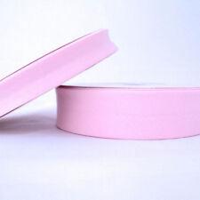 Plain Bias Binding Tape - 30mm - Baby Pink