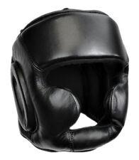 Genuine Leather Boxing Headgear, MMA, Kickboxing, Muay Thai Training Headguard