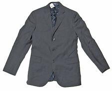 Polo Ralph Lauren Rugby Mens Grey Wool Italy Slim Blazer Sportcoat Jacket 38R