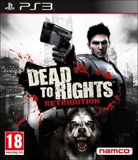 DEAD TO RIGHTS RETRIBUTION GIOCO PS3 NUOVO ITALIANO PS3