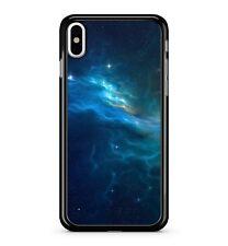 Azul eléctrico cyber espacio cielo estrellado Misty olas Lightning 2D Teléfono Estuche Cubierta