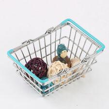 Children Mini Shopping Basket Supermarket Hand Basket Shopping Play Toys DB