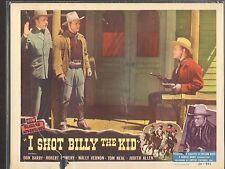 1950 MOVIE LOBBY CARD #1-0421 - I SHOT BILLY THE KID