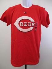 New Cincinnati Reds Adult Mens Sizes S-M-L-XL-2XL RED Majestic Shirt MSRP $26