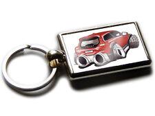 VOLVO C30 R DESIGN Sports Car Koolart Chrome Keyring Picture Both Sides