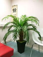 1.4M artificial Phoenix Palmera en tubus blanco brillante Olla Planta de oficina de gran tamaño