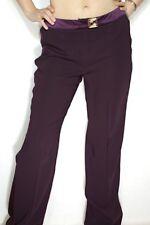 Versace Classic V2 Jeans Damen VJC Lila Hose Neu Gr 46