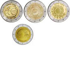 2 Euro Sondermünzen ZYPERN ab 2009 alle Jahre - frei wählbar - prägefrisch