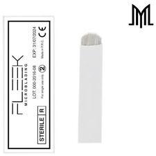 FLEXIBLE Microblading Needles - SPMU Permanent Makeup Manual Eyebrow Blade - U