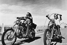61118 Easy Rider Harley Morto Wall Print Poster AU