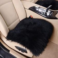 Genuine Long Wool Car Seat Cover Cushion Sheepskin Real Fur Warm Chair Cover