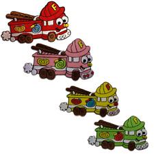 Toppe termoadesive - macchina dei pompieri bambini Baby - diversi colori selezio