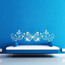 ButterFly Swirl Design Vinyl Removable Wall Sticker Decal Home Decor Art DIY