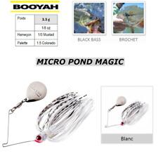 SpinnerBaits BOOYAH MICRO POND MAGIC BLANC PIKE BLACK BASS ...