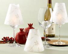 24 Fall Leaves Vellum Wine Shade Wedding Decoration Favors