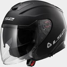 Casco Helmet fibre composite LS2 OF521 INFINITY JET SOLID MATT BLACK NERO OPACO