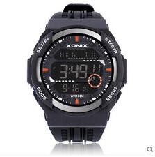 Xonix Men Sports watch Digital WR100m Multifunction Outdoor Watch World Time
