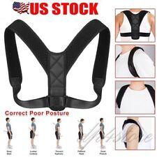 Posture Corrector for Women Men - Neck Pain Relief Upper Back Brace Strap Wraps