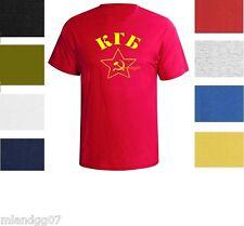 KGB Russian T-Shirt USSR Soviet Union Army Russia Secret Service Shirt  S-5XL