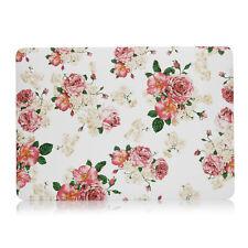 Vintage Flower-Rubberized Hard Case F Macbook Pro 13 A1989/A1706 Touch Bar 2018