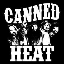 Canned Heat T Shirt Bob Hite Alan Wilson 70s blues rock music Woodstock 69