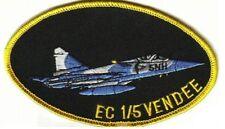 ARMÉE DE L'AIR DASSAULT-BREGUET Mirage 2000 C Escadron Cendée EC 1/5 Patch