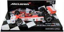 Minichamps McLaren Ford M23 USA GP West Long Beach 1977 - James Hunt 1/43 Scale