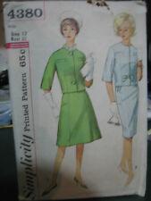 Simplicity 4380 Misses Skirt Suit Pattern - Size 12 Bust 32