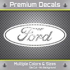 Ford Decal - Vinyl Ford Sticker - Classic Ford Oval Logo - F150 F250 F350 Yeti